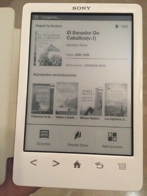 Ebook Sony T3 Blanco Buen Estado  LIBRO DIGITAL reader ereader Book Ibook