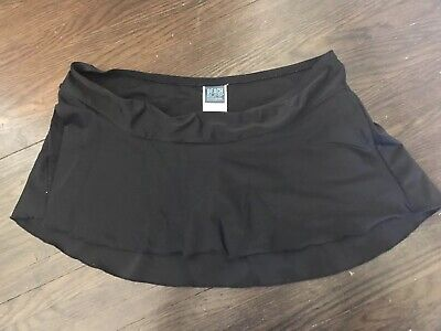 7e68dba4c8c81 Large Motherhood Maternity Beach Bump swim Bathing Suit skirt bottom black