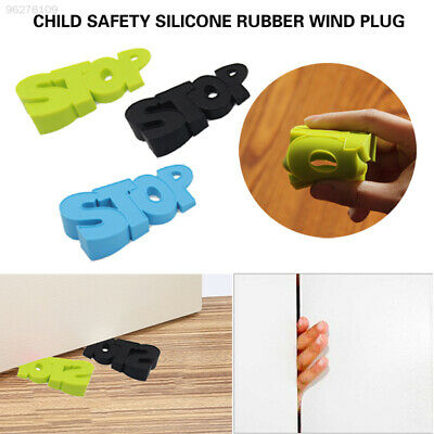 1228 Cartoon Safety Protector Baby Home Security Doorstops Safeguard Silicone