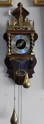 Dutch Warmink Vintage Dutch Zaanse Wall Clock