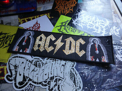 Official AC/DC High Voltage Woven Patch From the 80`S Hard Rock Heavy Metal
