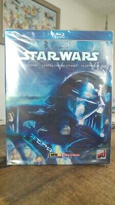 Coffret Blu Ray Star Wars Trilogie Originale Episodes Iv V Vi