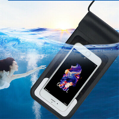 """Under Water Proof Dry Pouch Bag Case Cover Protector For Cell Phone Mobile 6.0"""""""