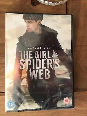 The Girl in the Spiders Web dvd