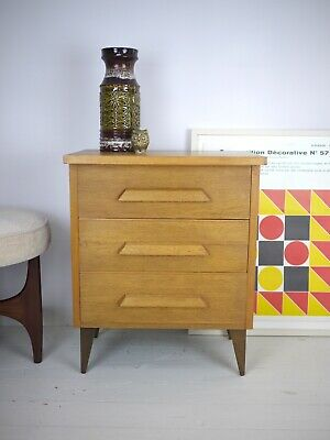 Vintage Mid Century Small Chest of Drawers G Plan Danish Style Hall Bedroom Side