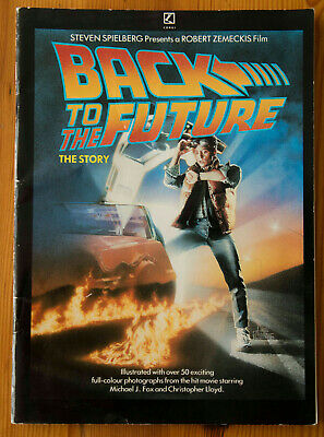 Back To The Future - The Story - Magazine  - Over 50 Full Colour Photos - 1985