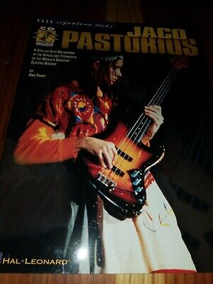 JACO PASTORIUS HAL Leonard Bass Signature Licks Book/CD NEW