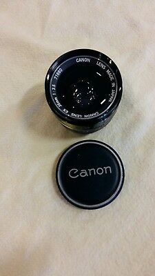 Canon Lens * 35mm 1:3.5 EX Topp Weitwinkel Objektiv @TOP ZUSTAND @@@ay4
