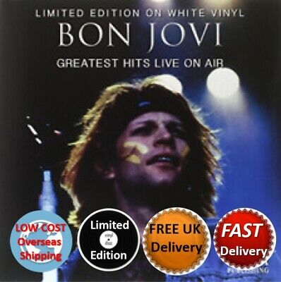 Bon Jovi Greatest Hits Live On Air Limited Edition On White Vinyl New/Sealed
