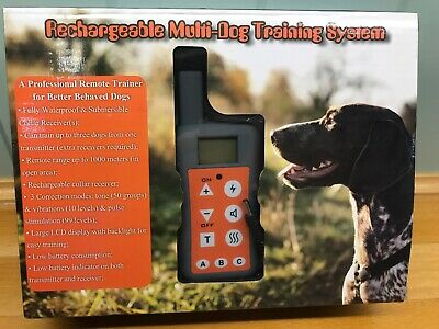Easypet EP-380R Rechargeable Multi-dog Training Collar Brand New