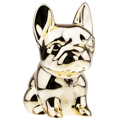 Dog Funny Piggy Bank Money Box Saving Pot Birthday Gifts Home Decor Golden