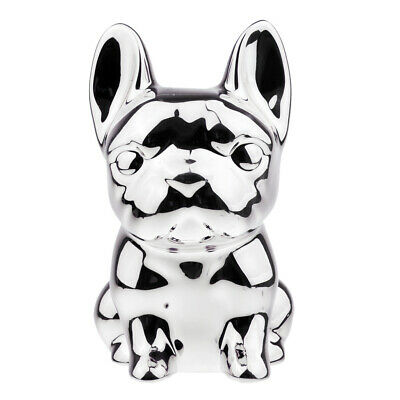 Dog Funny Piggy Bank Money Box Saving Pot Birthday Gifts Home Decor Silver