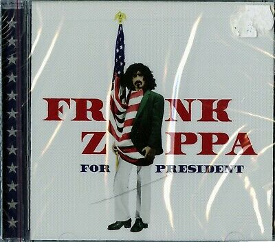 Frank Zappa For President Cd Sealed