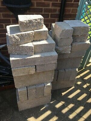 "100mm 4"" Concrete Solid Building Blocks. £1.00 Each , 34 Available"