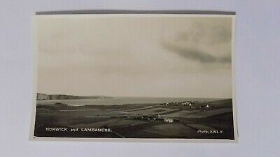 Norwick and Lambaness Unst Shetland unused postcard
