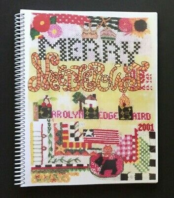 "Merry Needlepoint ""a fun needlepoint scrapbook"" by Carolyn Hedge Baird"
