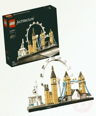 LEGO 21034 Architecture London Skyline Building Set, London Eye, Big Ben, ...