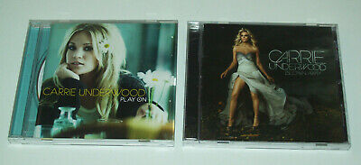 Carrie Underwood Blown Away & Play On (2 CD Lot)