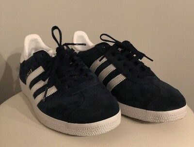 finest selection 9aa7a 61a50 Scarpe Adidas Donna Ragazza Gazzelle Blu Sneakers Sportive - Fr 38