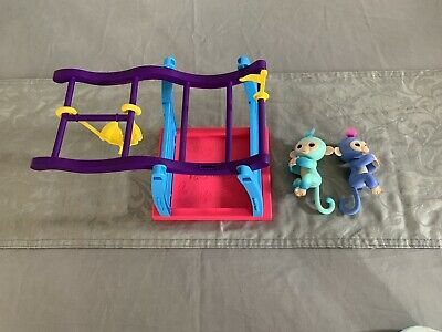 Genuine Fingerlings And Climbing Frame Hardly Used