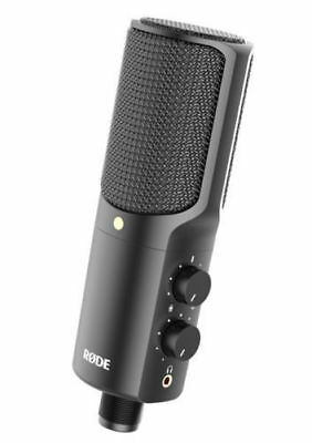 Rode NT USB Condenser Wired Studio Recording Microphone + Rode PSM1 Shockmount