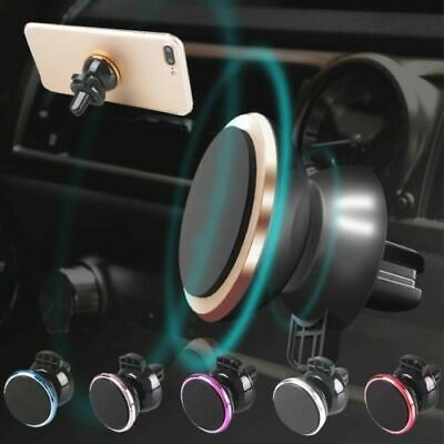 Car Magnetic Phone Holder Fits Air Vent Mount Universal 360 In Car Dash Magnetic