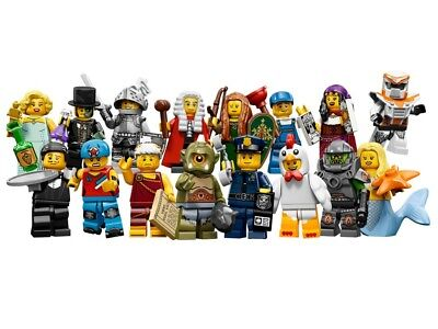 Lego Minifigures Serie 9 - 71000 - Figurines neuves au choix / New choose one