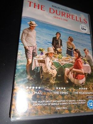 The Durrells Series One Two Discs English Family  Living On A Greek Island Dvd