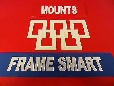 Frame Smart Antique White picture/photo mounts all sizes free delivery