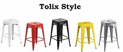 Brilliant Tolix Marais Counter Stool Low Back Set Of 2 Clear Coat Squirreltailoven Fun Painted Chair Ideas Images Squirreltailovenorg