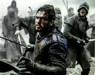 Kit Harington Game of Thrones signed autographed  8x10 photo L193