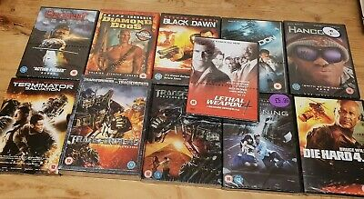 11x New Sealed DVD Bundle Joblot Gifts Action