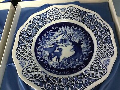 PLATES BAVARIA Lot Of 2 1981 1982