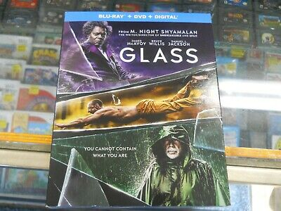 Brand New! Glass ( Blu-Ray + DVD ) With Digital with slip cover