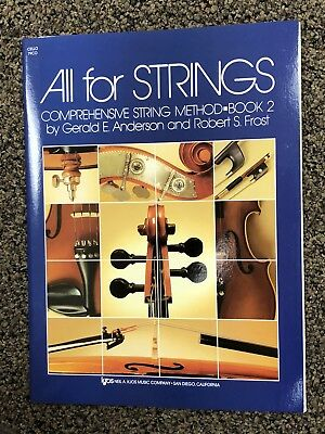 All for Strings Comprehensive Method Cello Book 2 79CO NEW