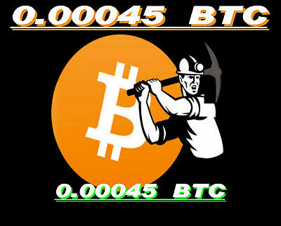 Bitcoin Mining Contract 0.00045 BTC 6-Hours Guaranteed, Bitmain S9 24TH/s