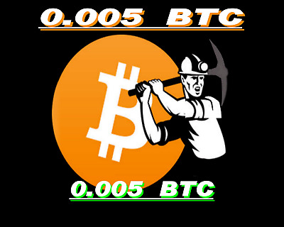Bitcoin Mining Contract 0.005 BTC 6-Hours Guaranteed, Bitmain S9 24 TH/s