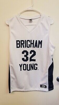 big sale 7f4f1 1cd07 JIMMER FREDETTE #32 Brigham Young Basketball Jersey - $24.99 ...