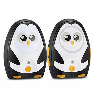 Audio Baby Monitor with up to 1000 Feet of Range Digital Transmission Belt Clip