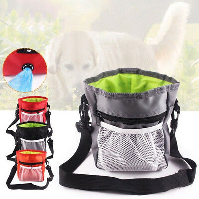 Pet Dog Cat Snack Bag Obedience Agility Bait Training Food Treat Bag Waist Pouch
