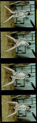 1 roll (15 negatives) of color medium format Kodak VPS film artistic nudes