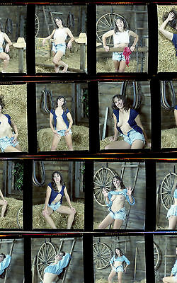 1 roll (16 negatives) of color medium format Kodak VPS film artistic nude
