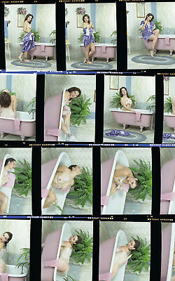1 roll (15 negatives) of color medium format Kodak 160VC film artistic nude
