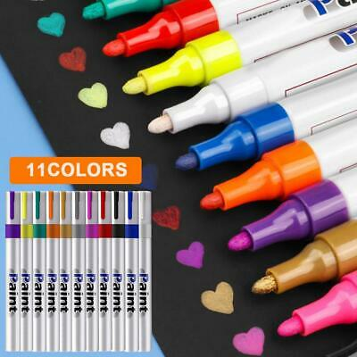 Paint Pens Oil-based Marker Long Lasting Fast Drying Marking Painting Graffiti