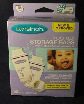 Lansinoh breastmilk storage bags 50 ct breast milk