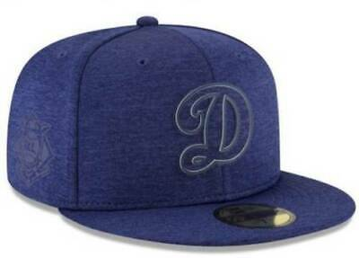 3cca8df1a19ba4 Official Los Angeles Dodgers 2018 MLB Clubhouse New Era 59FIFTY Fitted Hat