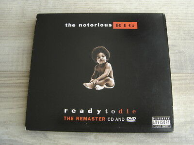 rap CD DVD hiphop * USA IMPORT * THE NOTORIOUS BIG Ready To Die Remaster *EX+*