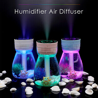 Air Purifier Essential Oil Humidifier Ultrasonic Air Diffuser Aroma Aromatherapy