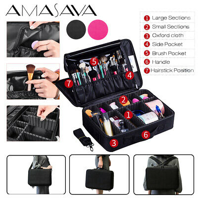 Large Cosmetic/Makeup/Handy/Toiletry Bag for Women Travel Beauty Case Organiser