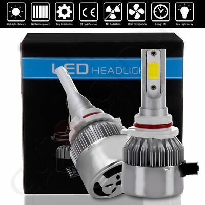 2018 NEW CREE LED Headlight 9006 HB4 9012 6000K 1855W 278250LM Bulbs